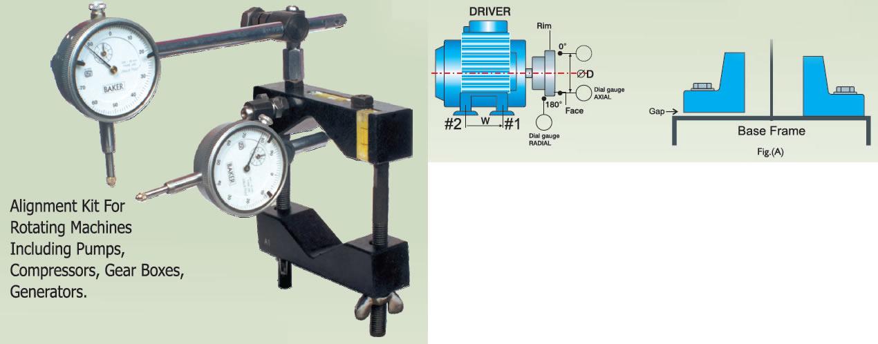 Ekta enterprises for Pump motor shaft alignment tools